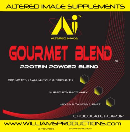 Gourmet Blend (Chocolate) - Protein Powder Blend - 2 Pounds