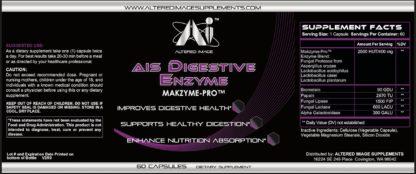 AIS Digestive enzyme