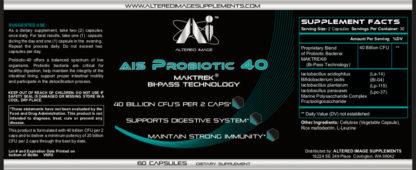 AIS Probiotic 40